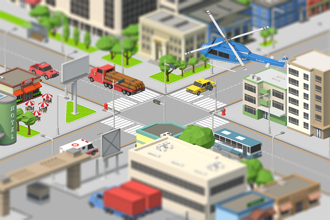 Yellow Images 360˚ Tutorial: Build your own low-poly city on Yellow